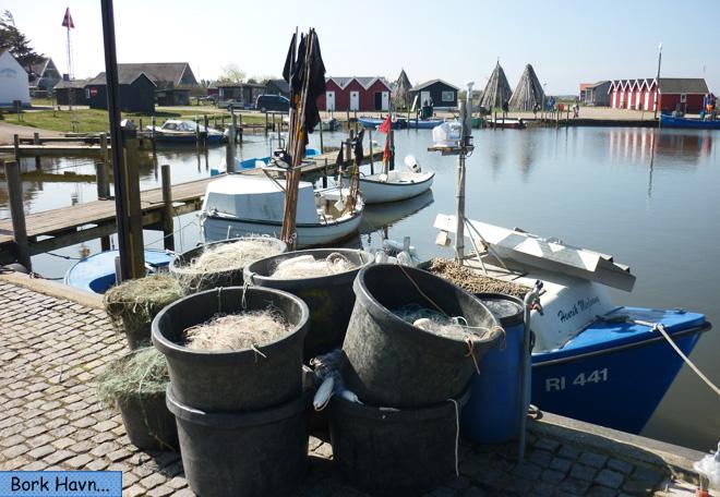 Bork Havn Hafenbecken ausbaggern