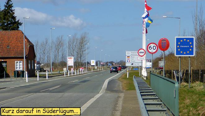 Süderlügum Grenze Dänemark