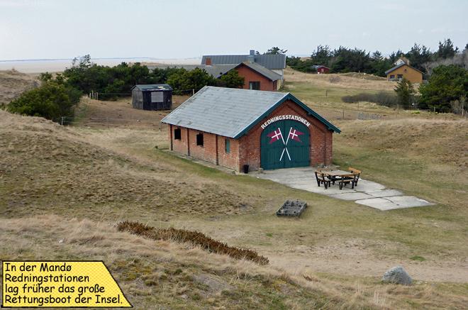 Mandø Rettungsstation