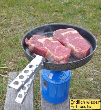 Entrecote Rib Eye Steaks