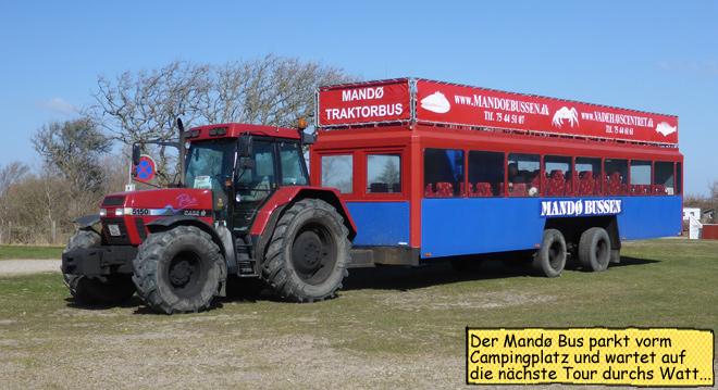 Mandø Traktor Bus