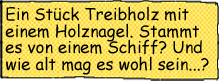 Treibholz Textbox