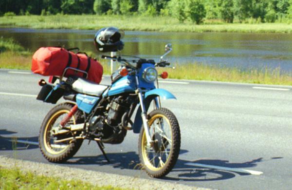 Endurowandern in Schweden auf meiner Suzuki DR500