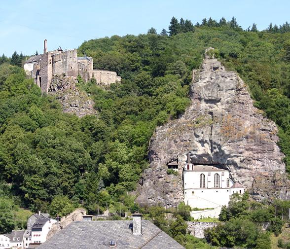 Felsenkirche und Schloß Oberstein