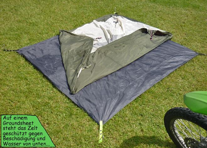 Zelt Unterboden Groundsheet