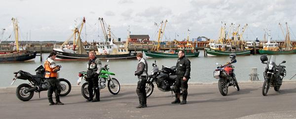 Rømø Havneby bei den Kuttern