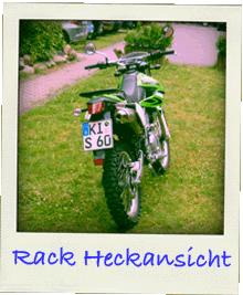 Gepaeckbruecke Kawasaki KLX 250