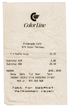 Colorline Kaffee