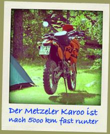 Metzeler Karoo T zum Endurowandern