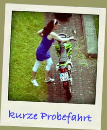 Probefahrt Kawasaki KLX 250