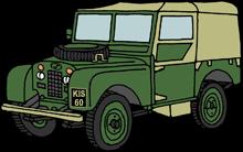 Land Rover Series One von Claudia gezeichnet