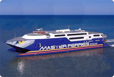 Mastercat Masterferries schnellste Fähre der Welt