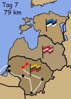 Motorradreise Baltikum