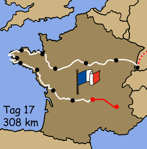 Motorradreise Bretagne