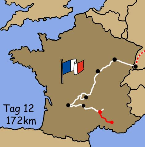 Motorradreise Frankreich