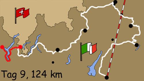Motorradreise Italien