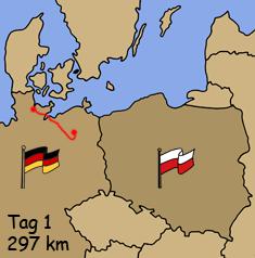 Motorradreise Masuren Polen