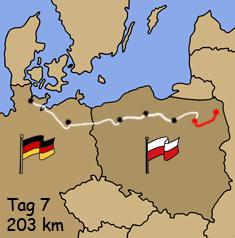 Motorradreise Polen Masuren