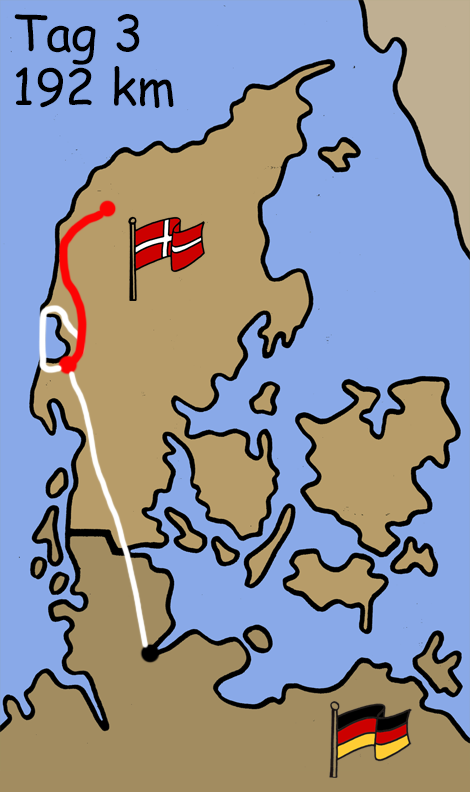 Motorradreise Skagen