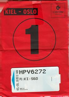 Startnummer Motorrad