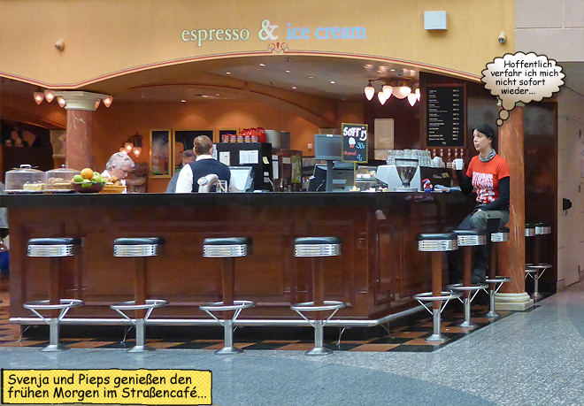 Espresso Bar Café Color Fantasy