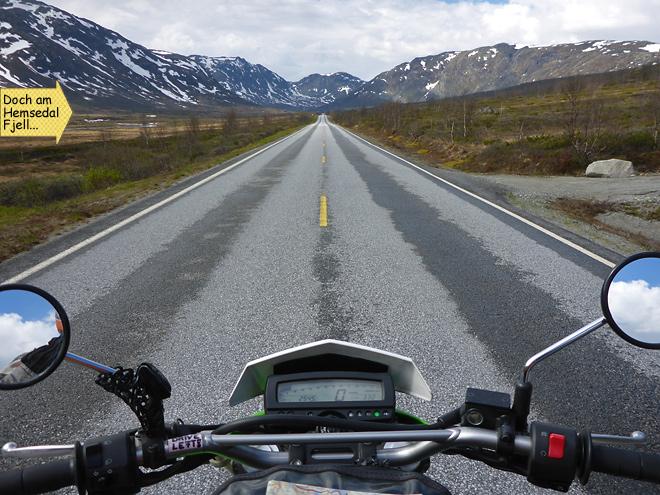 Hemsedal Fjell Motorrad