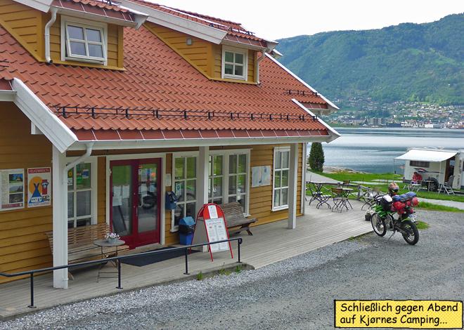 Kjörnes Camping Norwegen