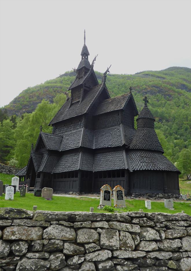 Stabkirche Borgund Norwegen