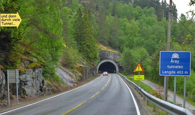 Tunnel Norwegen