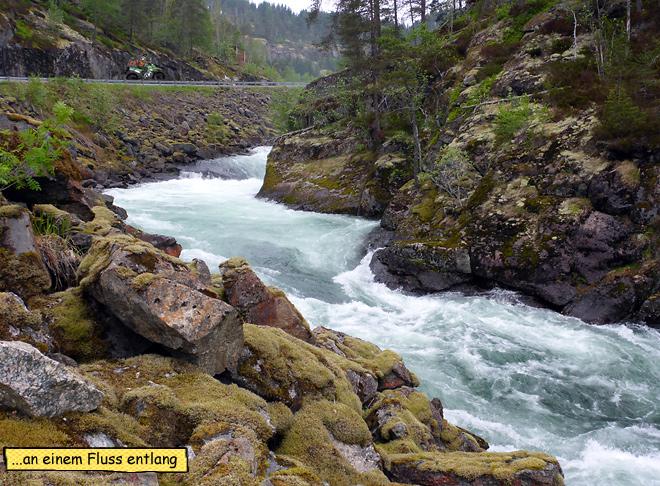 Fluss Norwegen