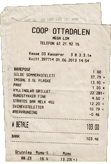 Coop Mega Lom Norwegen