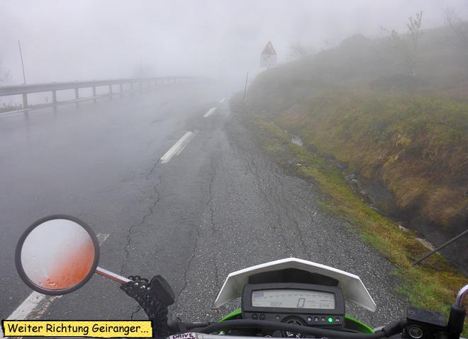 Endurowandern Norwegen Dalsnibba