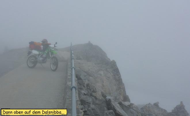 Dalsnibba im Nebel
