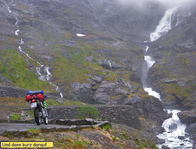 Motorradtour Trollstigen Norwegen