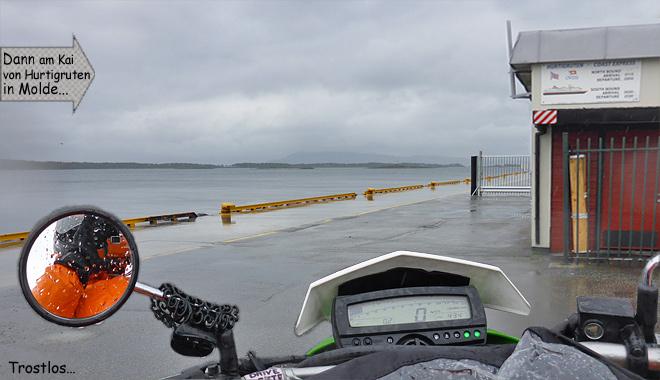 Hurtigruten Kai Molde Norwegen