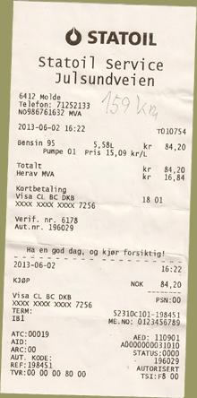 Statoil Tankstelle Molde