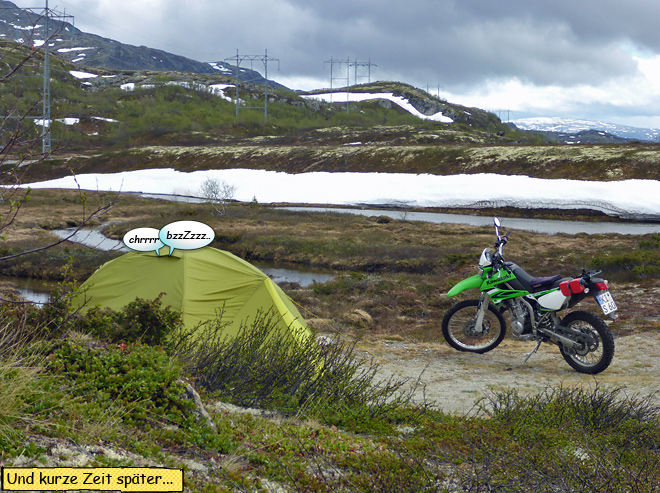 Wild campen in Norwegen