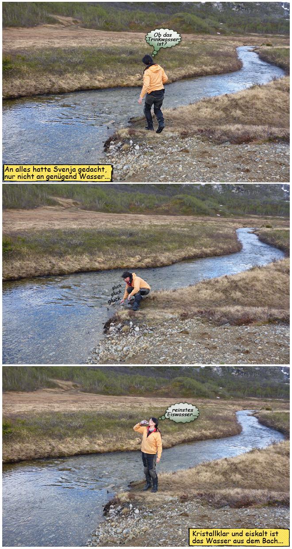 Trinkwasser Norwegen Flüsse Bäche
