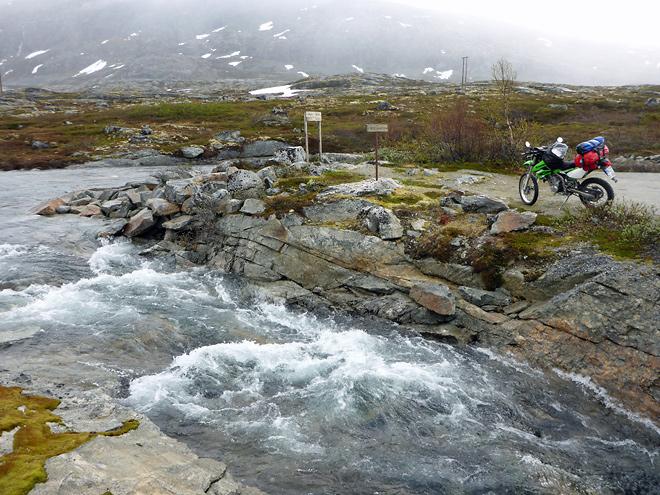 Trinkwasser Norwegen Skarvdalselva