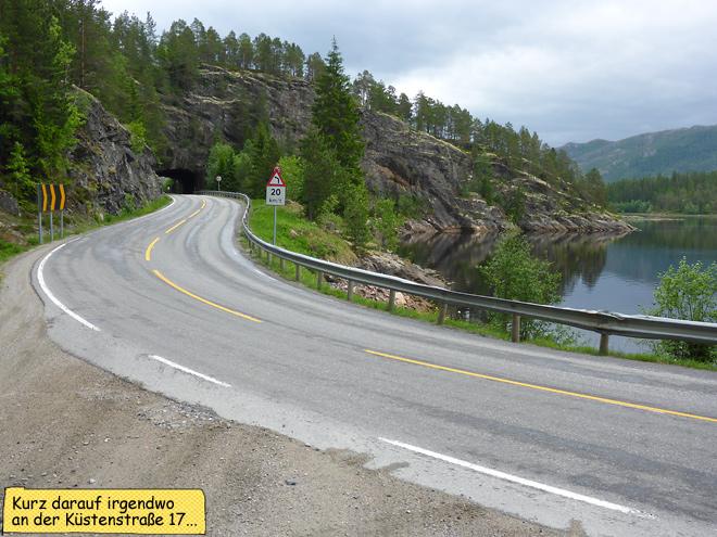 Norwegen Küstenstraße 17 Fv17 Rv17