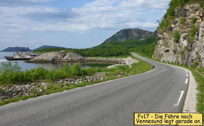 Fähre nach Vennesund