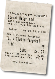 Fähre Fv17 Tjøtta