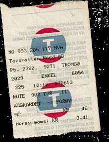 Fjordfähre Ticket Norwegen