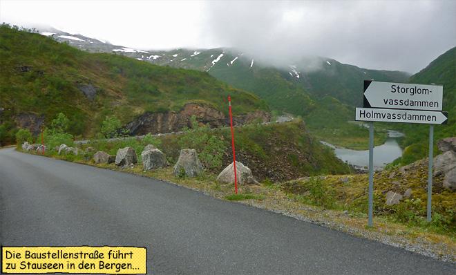 Holmvassdammen Norwegen