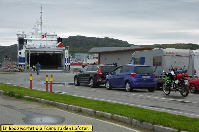 Bodø Fähre nach Moskenes