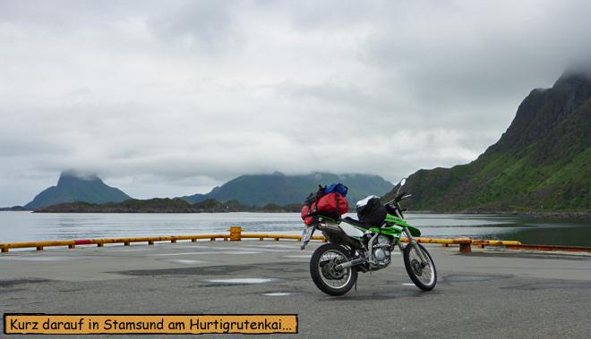 Stamsund Hurtigrutenkai