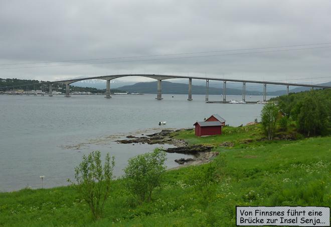 Finnsnes Brücke