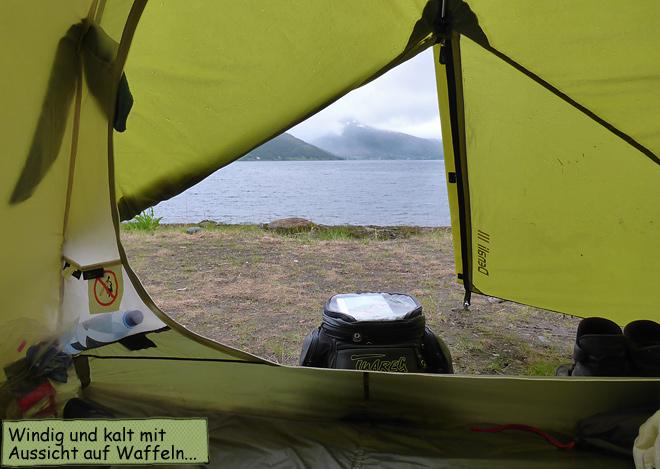 Zelten in Norwegen
