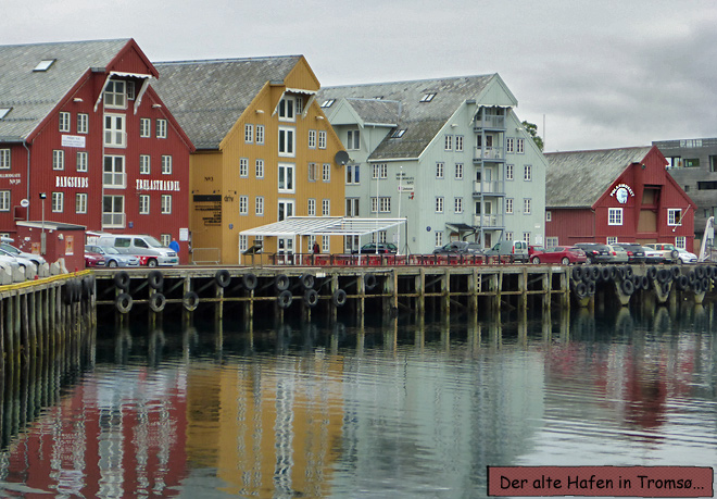 Tromsø Polarmuseum Hafen