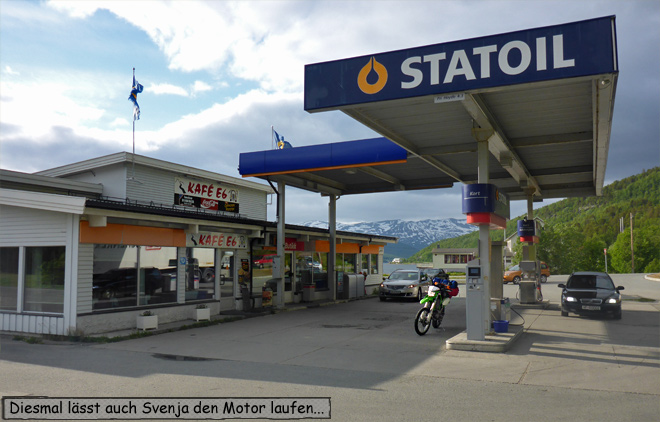 Tankstelle Kaffe E6